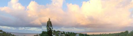 Panoramic view of Vieques