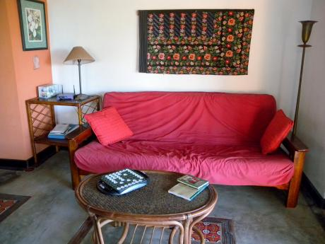 Living Room of Casita Omi